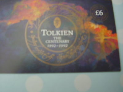 Tolkien.The Centenary  1892-1992  DX 14. Prestige Booklet. Complete. Superb.