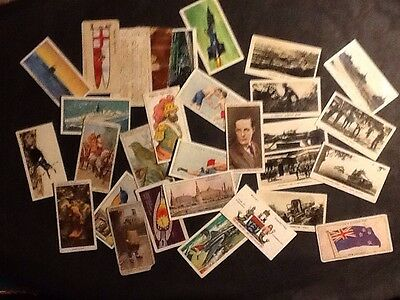 Mixed lot of old cards
