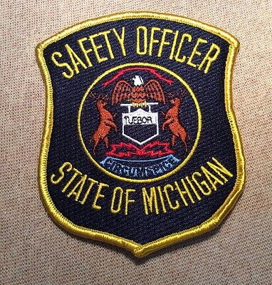 MI State of Michigan Safety Officer Patch