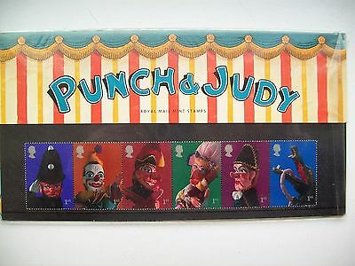 Presentation Pack, Punch and Judy, 2001.