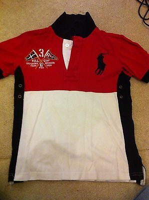 POLO RALPH LAUREN  TAILLE S/ 8 ans