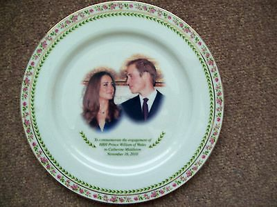 William and Kate Engagement plate
