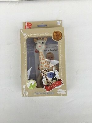Sophie The Giraffe La Baby Natural Rubber Teether Pacifier Squeaker Vulli 616324