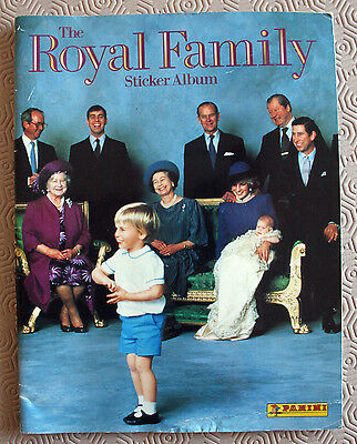 The Royal Family Sticker Album - Incomplete