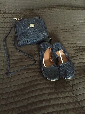 Ladies Foldable Flats And Bag Size 38 (uk5) By Rollbab