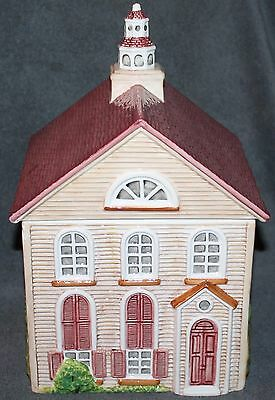 The Friendly Village English Design Large Cookie Jar by Johnson Bros