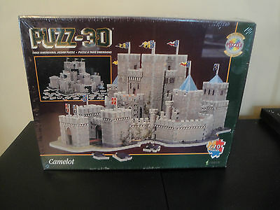 Wrebbit 3D Puzzle Camelot Factory Sealed Jigsaw