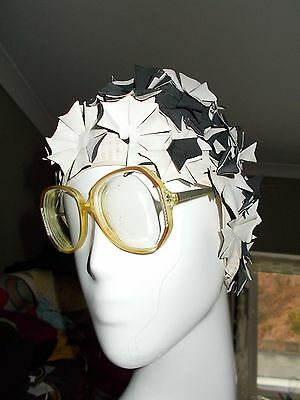 Vintage 1970s Glasses with Thick Lenses.