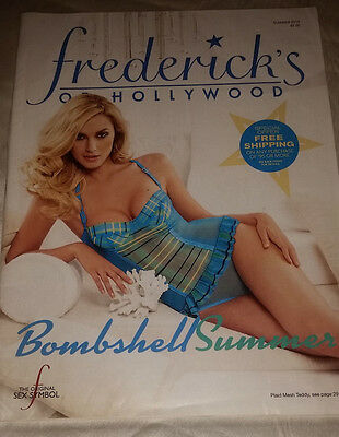 Frederick's of Hollywood Summer 2010 Catalog Women's Fashion Lingerie