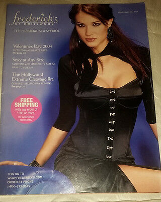 Frederick's of Hollywood Spring Preview 2004 Catalog Women's Fashion Lingerie