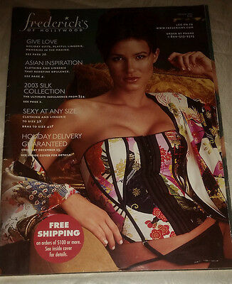 Frederick's of Hollywood Holiday 2003 Catalog Women's Fashion Lingerie