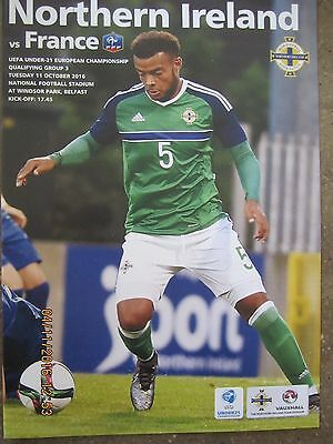 NORTHERN IRELAND  v  FRANCE        11.10.16     Uefa U21 Championship