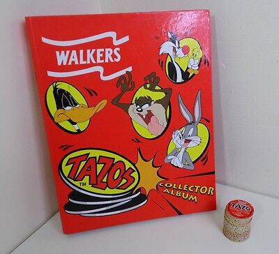 Walkers Tazos Bundle Collector Abum/Binder + Near Complete Collection 49/50
