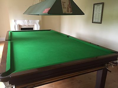 Full Size Snooker Table, Allied Billiards, Full Accessories And Light