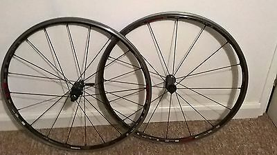 Shimano RS80 C24 700c Carbon Clincher Road Wheels - 8/9/10 speed