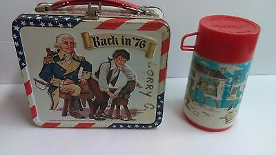 Back in 76 lunch box with thermos!