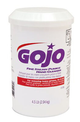 Go-Jo Ind. 1135-06 Hand Cleaner-4LB PUMICE HAND CLEANER