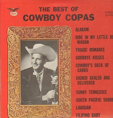 Cowboy Copas The Best Of Cowboy Copas NEAR MINT Starday Records Vinyl LP