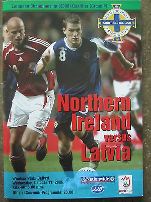 NORTHERN IRELAND v LATVIA      ECQ     11.10.06