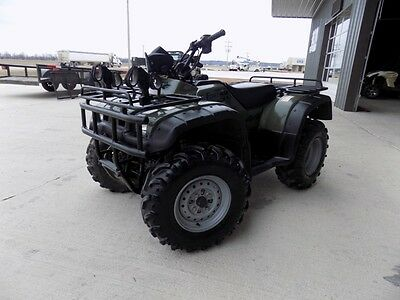 2000 Honda 450 ES Foreman ATV Quad 4X4 AUCTION NO RESERVE FOUR WHEELER
