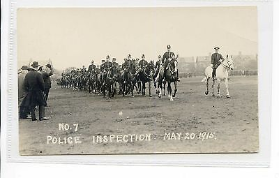 Rppc Mounted Police Being Inspected May 1915 No 7
