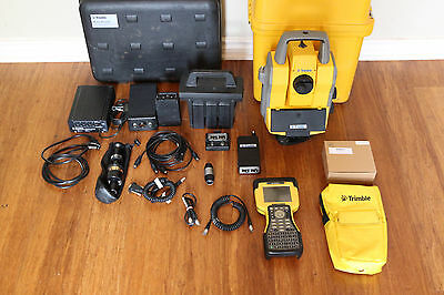 "Trimble 5603 DR200+ 2.4GHz 3"" Robotic Survey Total Station 5600 w/ TSC2, 606"