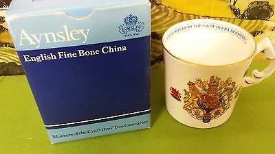 Collectables, Aynsley Royalty Prince Charles & Lady Diana, Marriage 1981