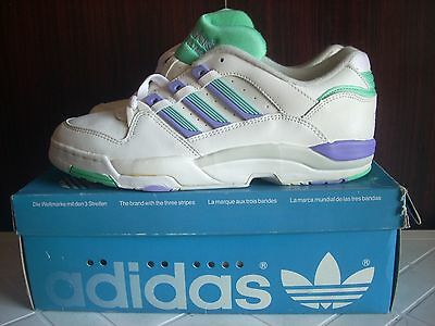Deadstock Adidas Torsion Olympia Lo Athletic Running Sneaker Trainers 90 6,5 Vtg