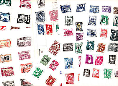 Stamps Bulgaria removed  from old albums see all scans