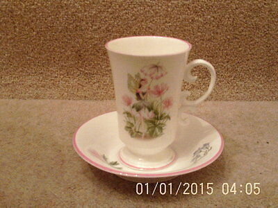 ROYAL WORCESTER ENCHANTMENT Coffee Cup and Saucer