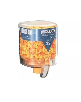 Brand New! Moldex Disposable Foam Earplugs Mellows Station 250 Pairs SNR 22
