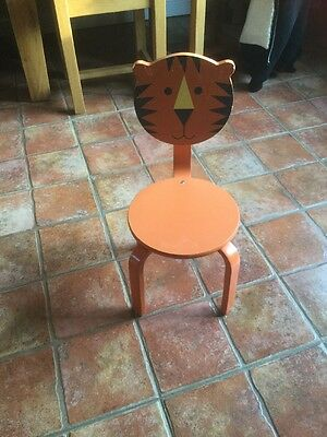 Fab Child's Wooden Tiger Chair