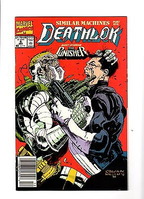 Deathlok #6 (Marvel Comics, December 1991)