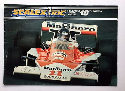 Scalextric Catalogue 18th Edition. 1977.