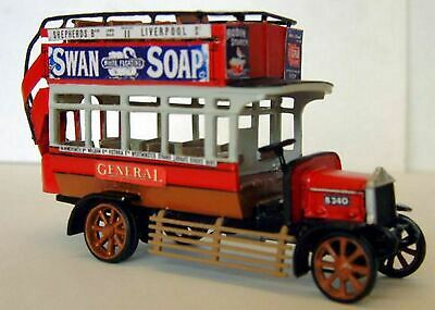Daimler / AEC 'B' type double deck bus UNPAINTED Model Kit OO Scale 1:76 S4