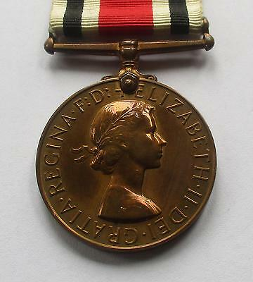 SPECIAL CONSTABULARY LONG SERVICE MEDAL /  ELIZABETH 2nd / THOMAS H WEST