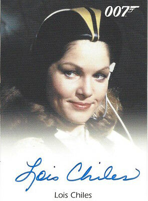 JAMES BOND 50TH ANNIVERSARY SERIES 1 - FULL BLEED AUTOGRAPH Lois Chiles