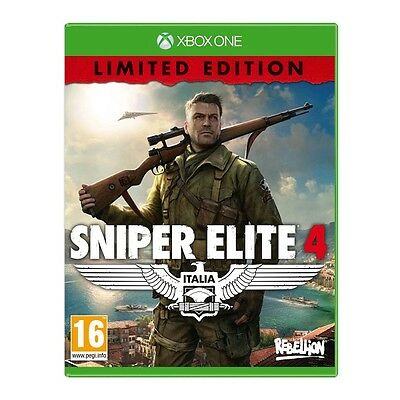 Sniper Elite 4 Limited Edition Xbox One Game Brand New