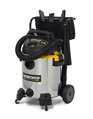 Shop Wet Dry Vac Vacuum 16 Gallon 6.5 HP Stainless Professional Most Powerful