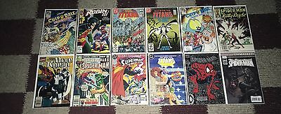 12 random comics posted in pic in great condition