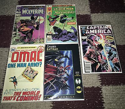 5 Random comics in pic posted includes first appearances!