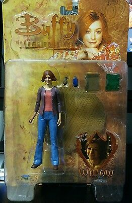 """NEW"" Willow Buffy the Vampire Slayer Season Five Willow Action Figure 2004"