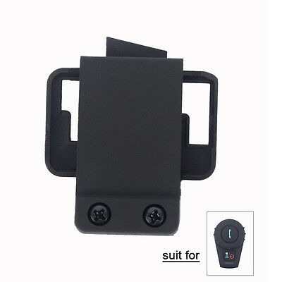 Clip for BT Motorcycle Motorbike Bluetooth Intercom Helmet Headset Comm FDC 500m
