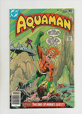 Aquaman #60 - Ending Of Mera's Quest - (Grade 9.2) 1978