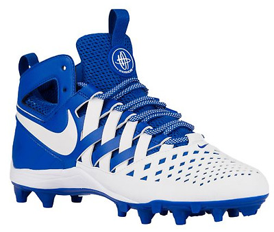 Men's Nike Huarache V Elite Lacrosse Cleats Sizes 8.5-12.5 Blue