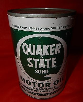 Quaker State Motor Oil Safe / Bank  Fake Can
