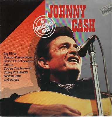Johnny Cash Original Hits NEAR MINT Big Country Vinyl LP