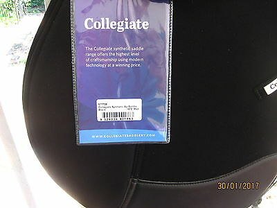 COLLEGIATE   BRAND NEW WITH TAGS   Synthetic All Purpose Saddle