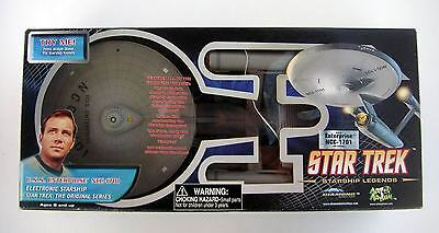 Art Asylum Star Trek HD USS ENTERPRISE NCC 1701 Electronic Classic TV Starship