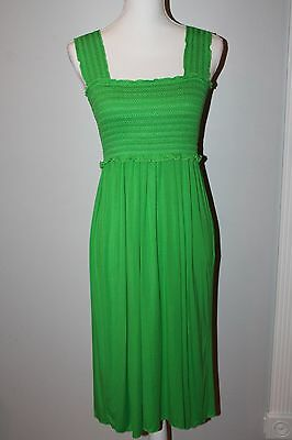 MILK nursing dress Nursingwear Green Airy Stretchy Casual Small ~ NEW ~ with tag
